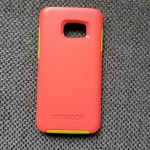 OtterBox Accessories - Hot pink S7 Otterbox Case